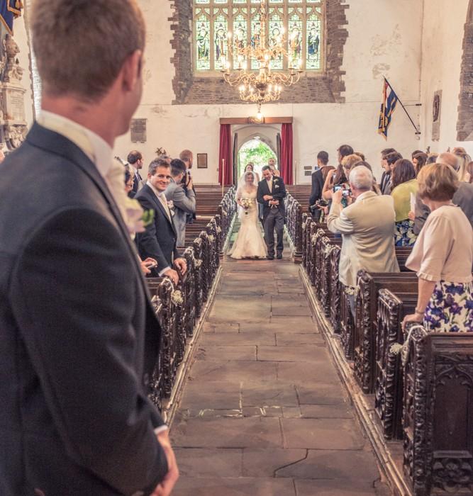 Wedding Flowers Cheltenham: Woolacombe Bay Hotel Wedding