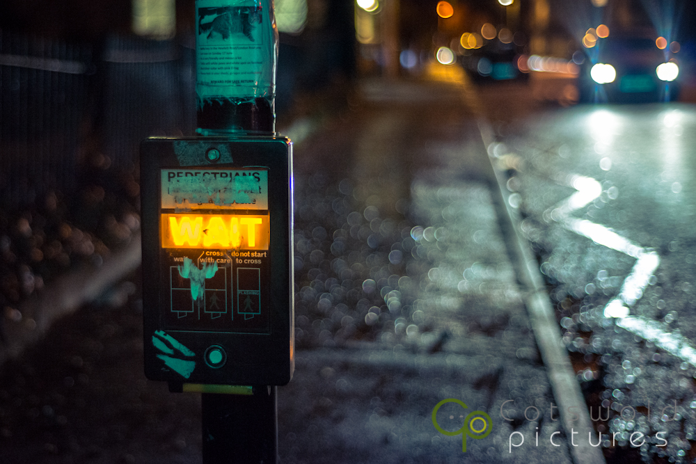 project-365-pedestrian-crossing-wait-night-cotswold-pictures-wedding-photography-gloucestershire